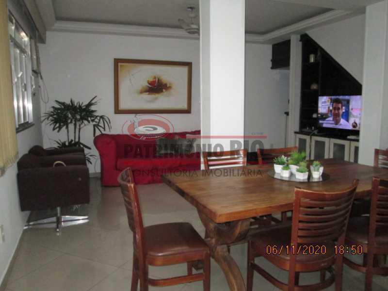 IMG_1656 - Espetacular Casa Duplex, 2quartos ( 1suite master), piscina, 2vagas garagem Vista Alegre - PACA20565 - 9