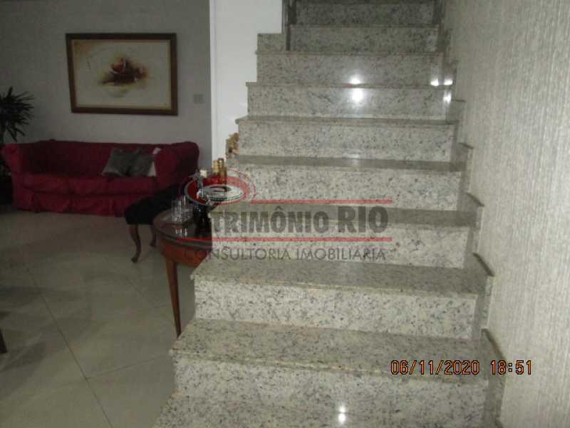 IMG_1659 - Espetacular Casa Duplex, 2quartos ( 1suite master), piscina, 2vagas garagem Vista Alegre - PACA20565 - 14