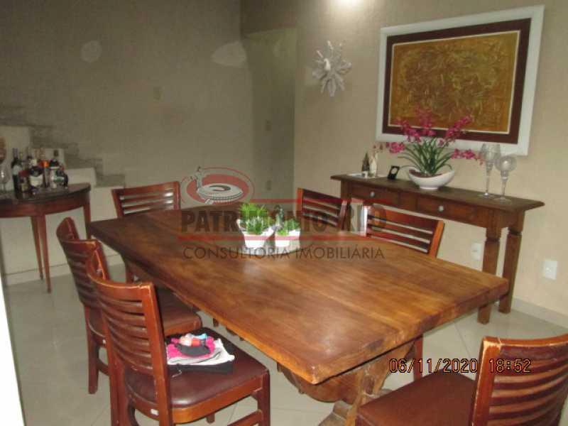IMG_1661 - Espetacular Casa Duplex, 2quartos ( 1suite master), piscina, 2vagas garagem Vista Alegre - PACA20565 - 12