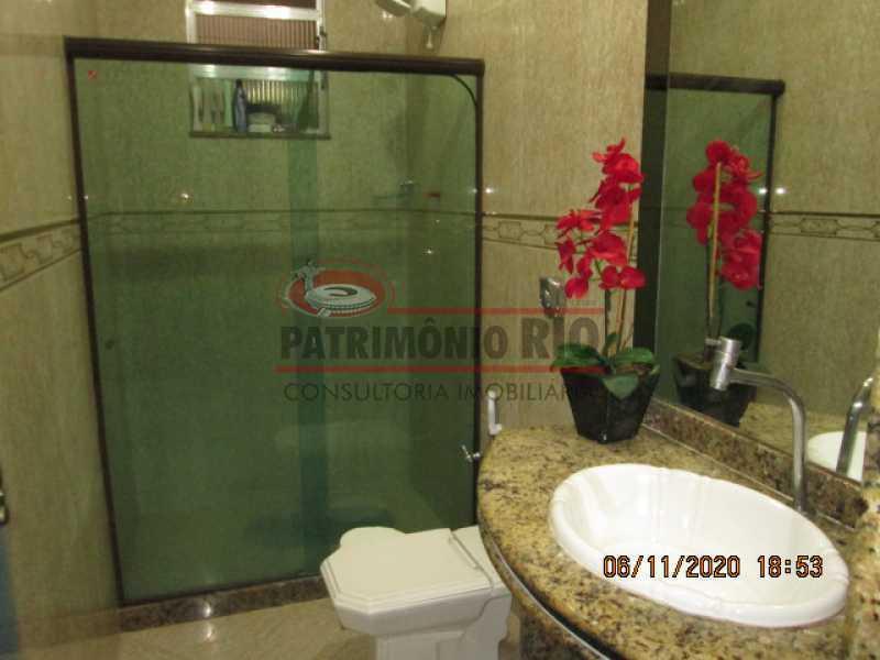 IMG_1665 - Espetacular Casa Duplex, 2quartos ( 1suite master), piscina, 2vagas garagem Vista Alegre - PACA20565 - 17