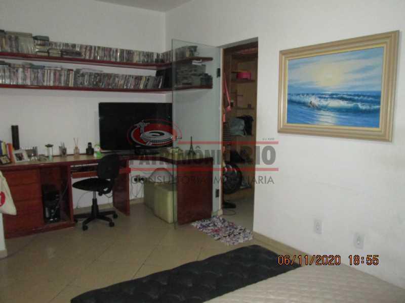 IMG_1669 - Espetacular Casa Duplex, 2quartos ( 1suite master), piscina, 2vagas garagem Vista Alegre - PACA20565 - 21