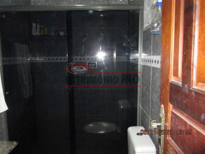 IMG_1672 - Espetacular Casa Duplex, 2quartos ( 1suite master), piscina, 2vagas garagem Vista Alegre - PACA20565 - 23