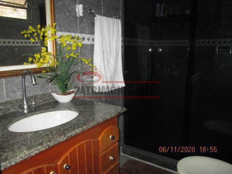 IMG_1673 - Espetacular Casa Duplex, 2quartos ( 1suite master), piscina, 2vagas garagem Vista Alegre - PACA20565 - 24