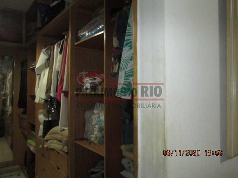 IMG_1675 - Espetacular Casa Duplex, 2quartos ( 1suite master), piscina, 2vagas garagem Vista Alegre - PACA20565 - 26