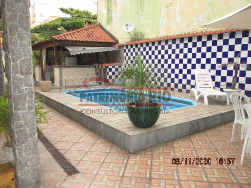 IMG_1681 - Espetacular Casa Duplex, 2quartos ( 1suite master), piscina, 2vagas garagem Vista Alegre - PACA20565 - 4