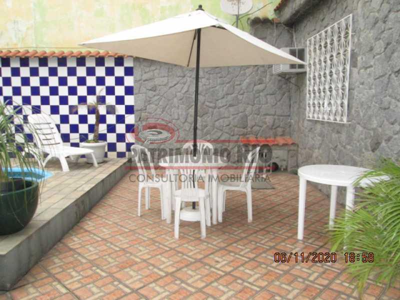 IMG_1682 - Espetacular Casa Duplex, 2quartos ( 1suite master), piscina, 2vagas garagem Vista Alegre - PACA20565 - 5