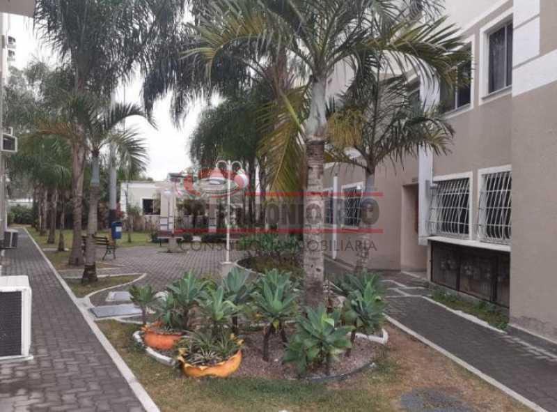 area comum beija flor - Apartamento Condomínio Beija Flor - apartamento 2qtos - Honório Gurgel - PAAP24063 - 10