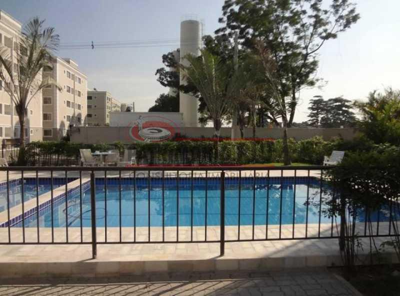 piscina beija fl1 - Apartamento Condomínio Beija Flor - apartamento 2qtos - Honório Gurgel - PAAP24063 - 14