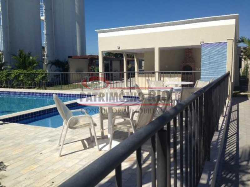 piscina beija fl2 - Apartamento Condomínio Beija Flor - apartamento 2qtos - Honório Gurgel - PAAP24063 - 15
