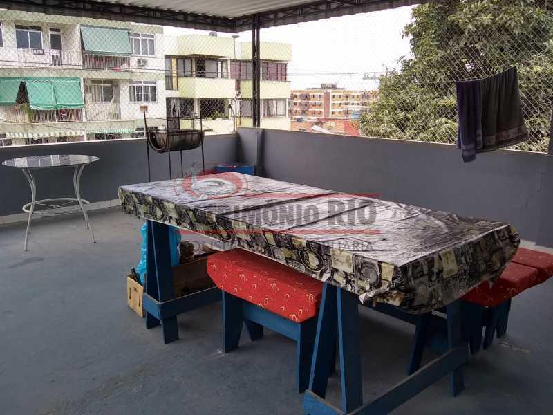 IMG_20201117_104827088_HDR - Boa Casa 3quartos Duplex de frente somente a vista - PACA30523 - 13