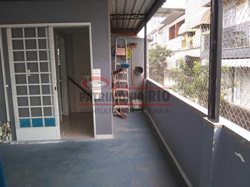 IMG_20201117_104920228 - Boa Casa 3quartos Duplex de frente somente a vista - PACA30523 - 15