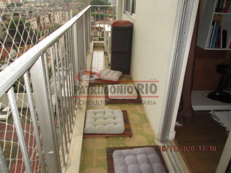 IMG_1798 - Excelente Apartamento Semi - Luxo, 2quartos, dependência completa, vaga de garagem escritura - Cachambi - PAAP24077 - 4