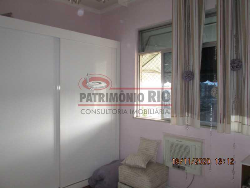 IMG_1806 - Excelente Apartamento Semi - Luxo, 2quartos, dependência completa, vaga de garagem escritura - Cachambi - PAAP24077 - 12