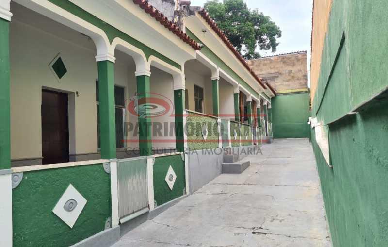 1 - Casa de Vila linear reformada com 01 quarto amplo,varanda e área externa entrar e morar. - PACV10052 - 1