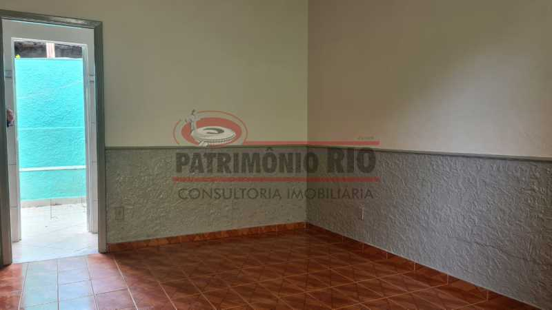 3 - Casa de Vila linear reformada com 01 quarto amplo,varanda e área externa entrar e morar. - PACV10052 - 4