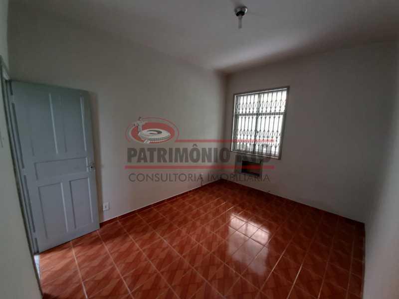 7 - Casa de Vila linear reformada com 01 quarto amplo,varanda e área externa entrar e morar. - PACV10052 - 8