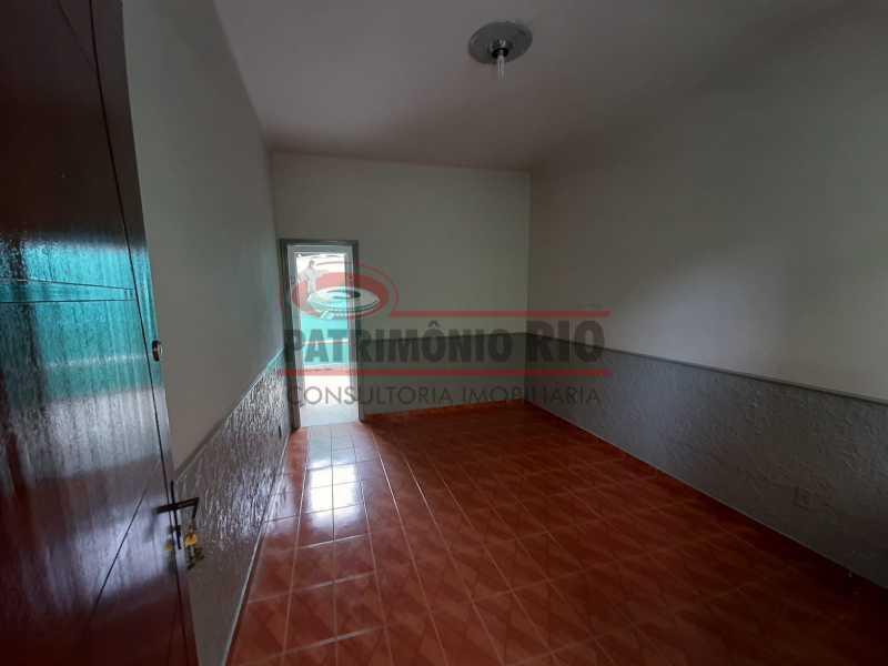 8 - Casa de Vila linear reformada com 01 quarto amplo,varanda e área externa entrar e morar. - PACV10052 - 9