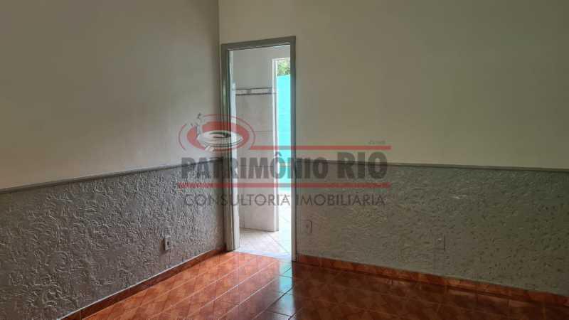 14 - Casa de Vila linear reformada com 01 quarto amplo,varanda e área externa entrar e morar. - PACV10052 - 15