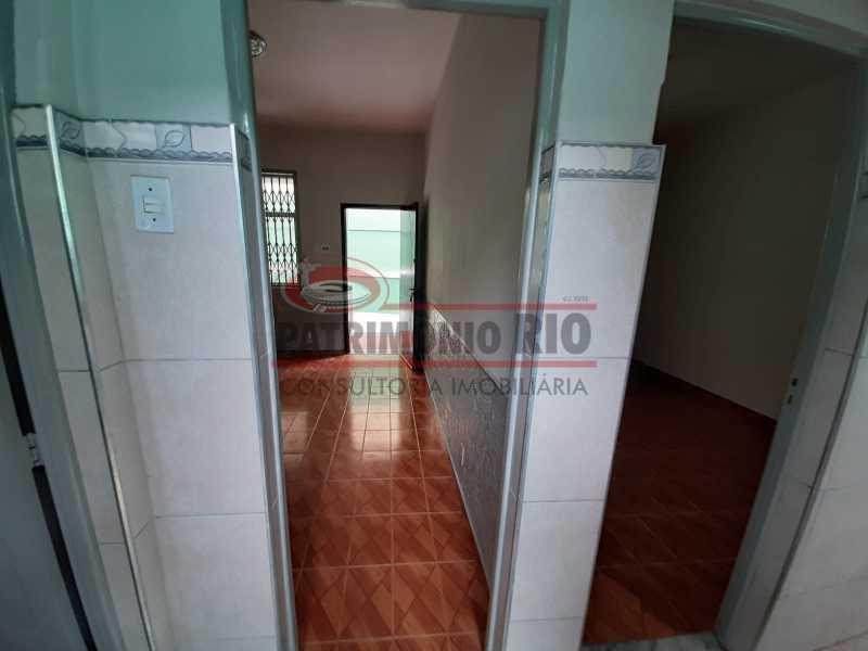 15 - Casa de Vila linear reformada com 01 quarto amplo,varanda e área externa entrar e morar. - PACV10052 - 16