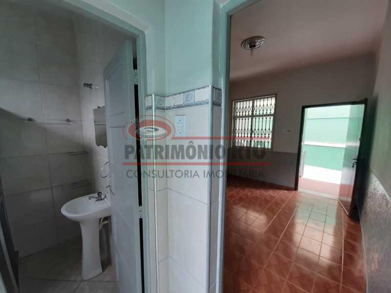 16 2 - Casa de Vila linear reformada com 01 quarto amplo,varanda e área externa entrar e morar. - PACV10052 - 17