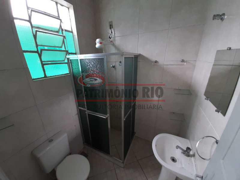17 2 - Casa de Vila linear reformada com 01 quarto amplo,varanda e área externa entrar e morar. - PACV10052 - 18