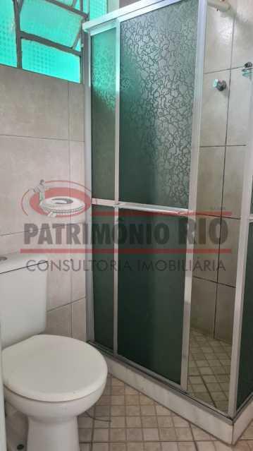 19 3 - Casa de Vila linear reformada com 01 quarto amplo,varanda e área externa entrar e morar. - PACV10052 - 20