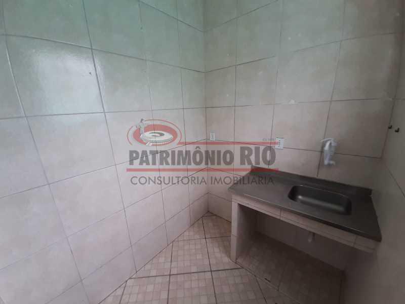 20 - Casa de Vila linear reformada com 01 quarto amplo,varanda e área externa entrar e morar. - PACV10052 - 21