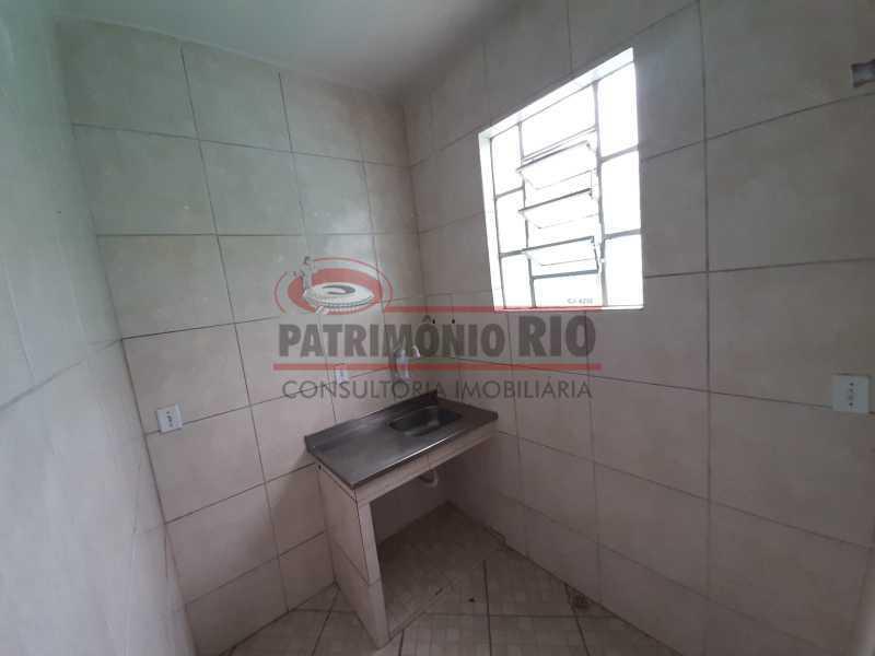 21 2 - Casa de Vila linear reformada com 01 quarto amplo,varanda e área externa entrar e morar. - PACV10052 - 22