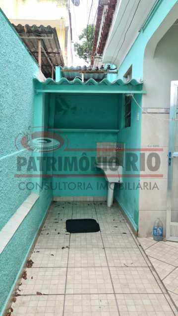 22 - Casa de Vila linear reformada com 01 quarto amplo,varanda e área externa entrar e morar. - PACV10052 - 23