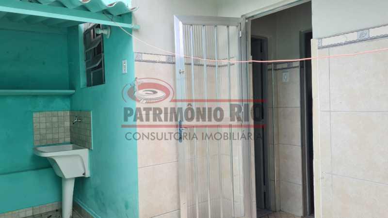 23 - Casa de Vila linear reformada com 01 quarto amplo,varanda e área externa entrar e morar. - PACV10052 - 24