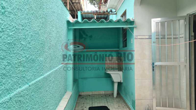 24 - Casa de Vila linear reformada com 01 quarto amplo,varanda e área externa entrar e morar. - PACV10052 - 25