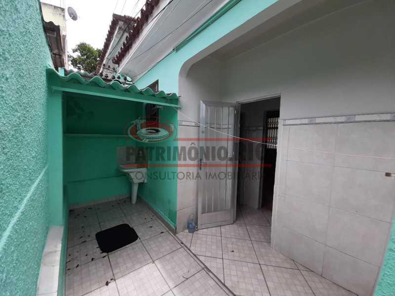 25 - Casa de Vila linear reformada com 01 quarto amplo,varanda e área externa entrar e morar. - PACV10052 - 26