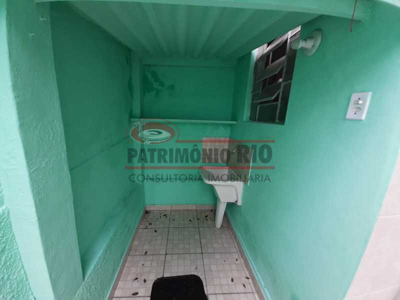 26 4 - Casa de Vila linear reformada com 01 quarto amplo,varanda e área externa entrar e morar. - PACV10052 - 27