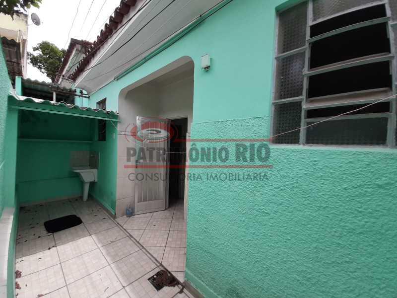 27 3 - Casa de Vila linear reformada com 01 quarto amplo,varanda e área externa entrar e morar. - PACV10052 - 28