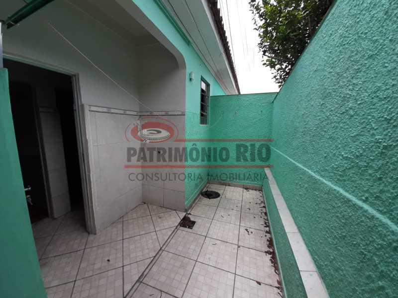 28 3 - Casa de Vila linear reformada com 01 quarto amplo,varanda e área externa entrar e morar. - PACV10052 - 29