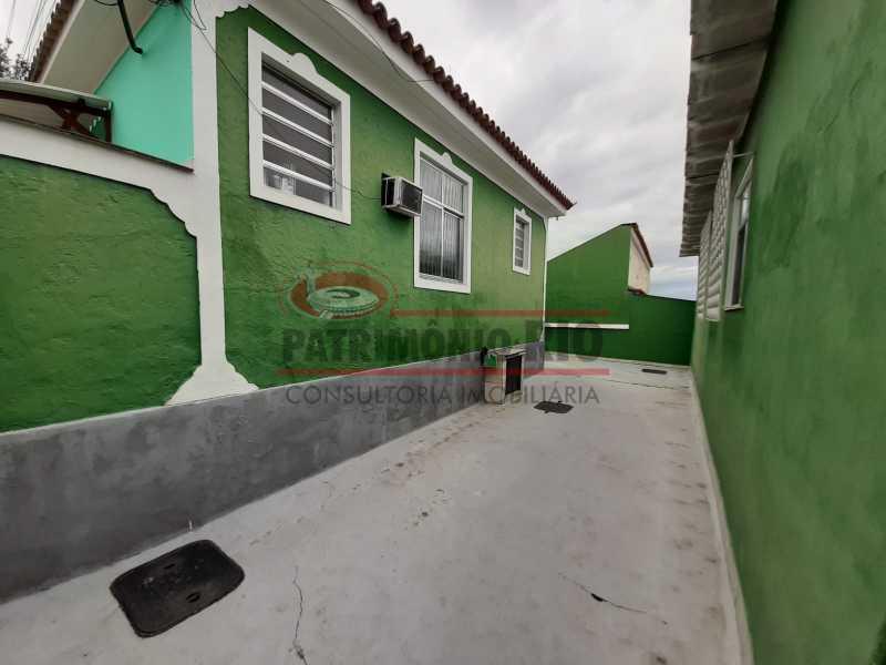 29 2 - Casa de Vila linear reformada com 01 quarto amplo,varanda e área externa entrar e morar. - PACV10052 - 30