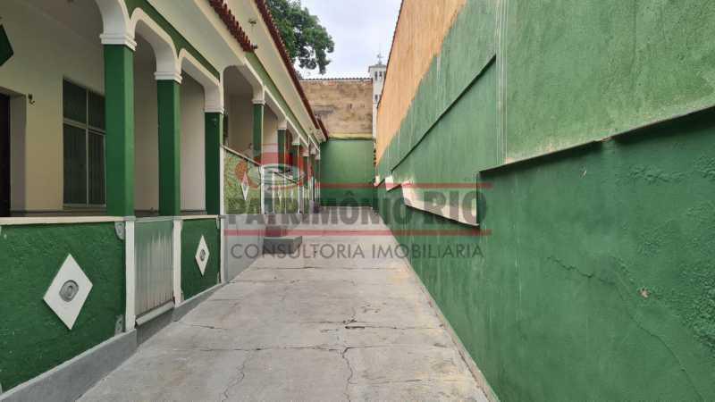 30 - Casa de Vila linear reformada com 01 quarto amplo,varanda e área externa entrar e morar. - PACV10052 - 31