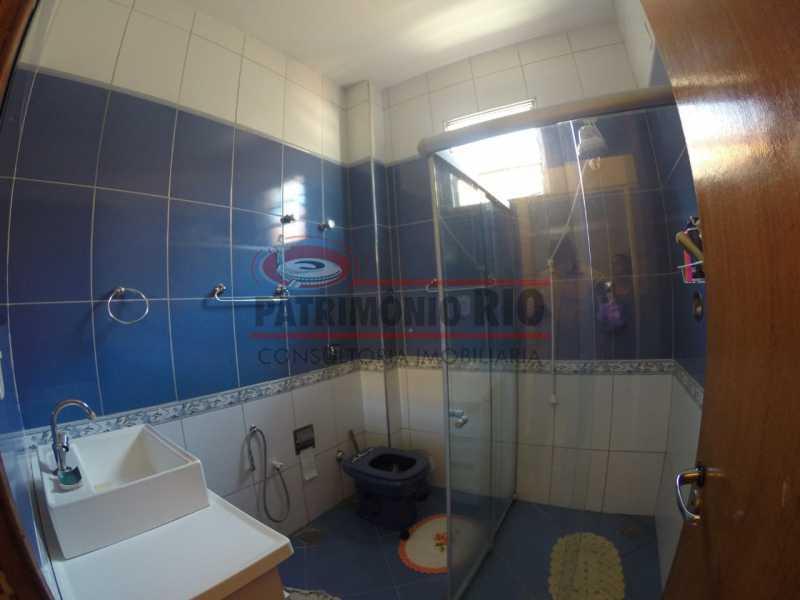 5 - banheiro social 1. - 2quartos em área nobre do Bairro - PAAP24099 - 15