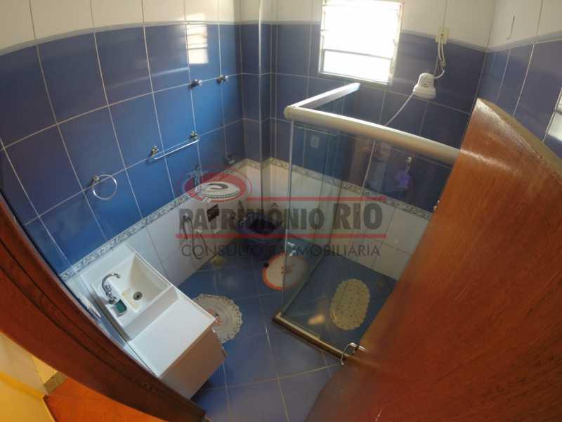 5 - banheiro social 2. - 2quartos em área nobre do Bairro - PAAP24099 - 16
