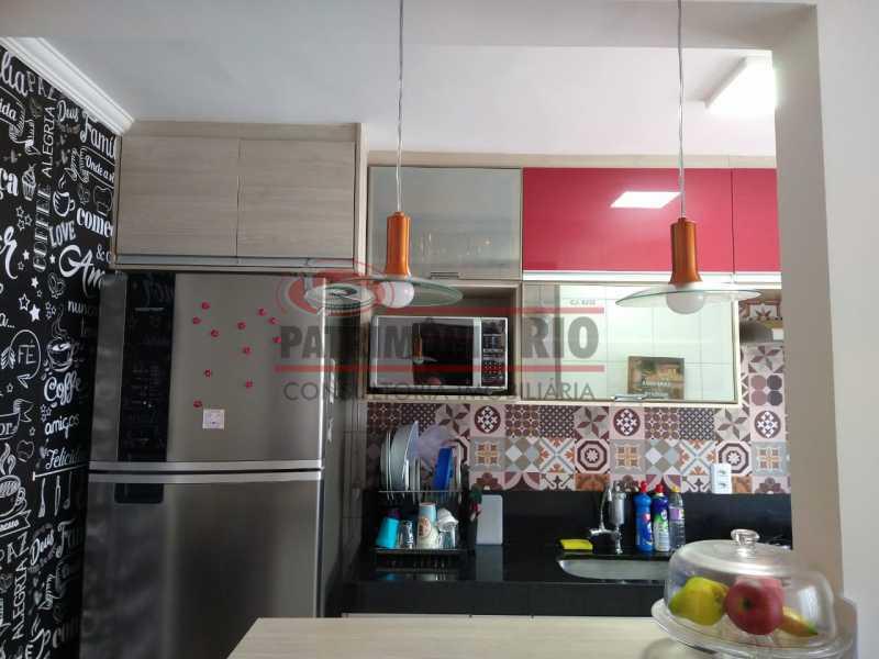 22 - Apartamento 2quartos, 1vaga, todo reformado e financiando - PAAP24115 - 16