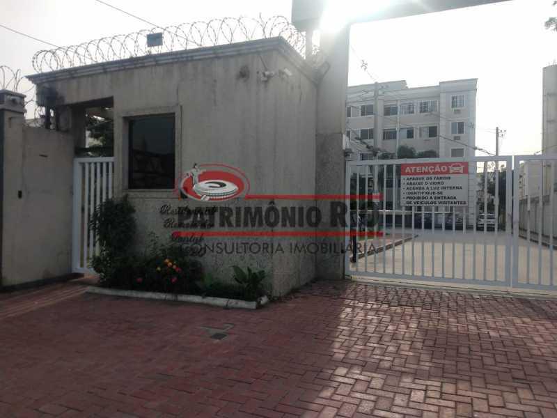 GD24 - Apartamento em Condomínio fechado 2quartos - PAAP24117 - 24