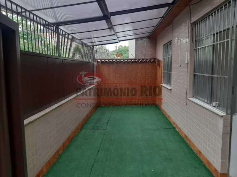 17 - Apartamento, Ramos, Térreo, área externa, 2quartos e financiando - PAAP24140 - 1