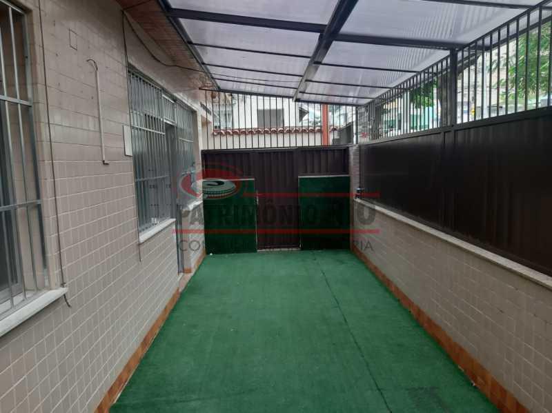 18 - Apartamento, Ramos, Térreo, área externa, 2quartos e financiando - PAAP24140 - 3