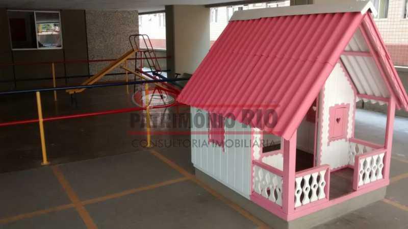 4 - Apartamento, Pça Seca, 2quartos, varanda, 1vaga e financiada - PAAP24150 - 22