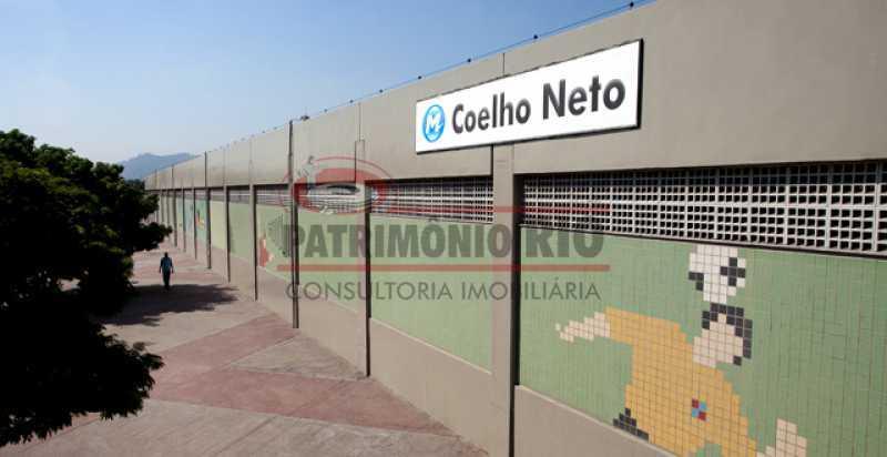 coelho_neto - Apartamento 1quarto próximo ao Metro - PAAP10484 - 26
