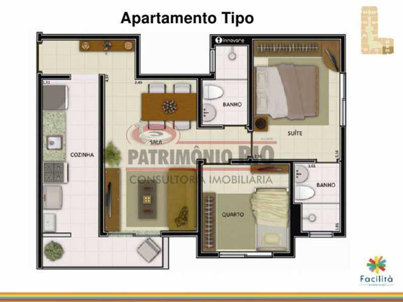 IMG-20210128-WA0103 - Maria da Graça - Apartamento 2quartos - (1suite) - 1vaga- piscina - PAAP24214 - 22