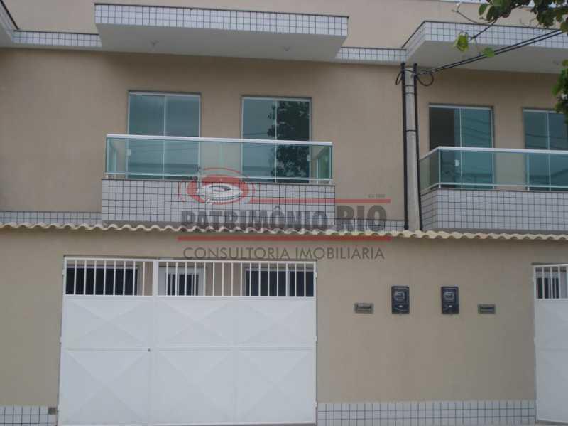 2. - Boa casa duplex em Irajá com varanda, 2qtos e vaga, junto a praça da Light. - PACA20592 - 3