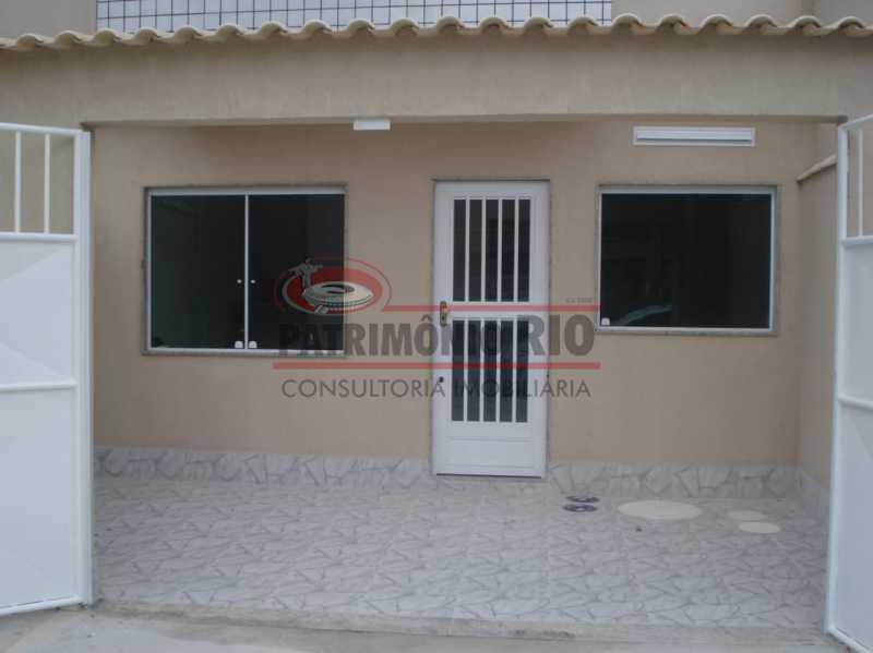 3. - Boa casa duplex em Irajá com varanda, 2qtos e vaga, junto a praça da Light. - PACA20592 - 4