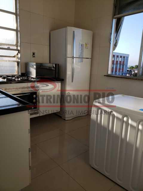 3 - Apartamento, Av Lobo Junior, 1quarto, reformado, documentação ok! - PAAP10488 - 4