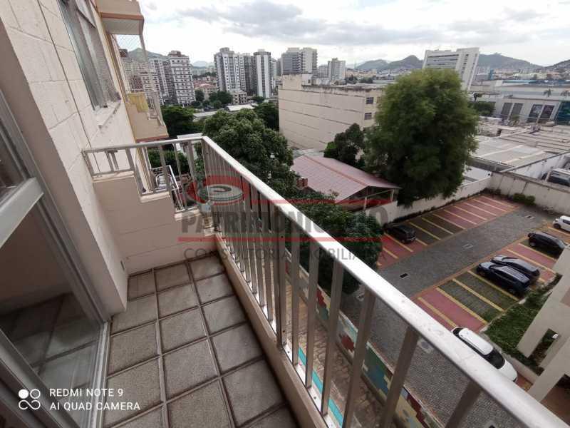 19 - Apartamento coladinho Norte Shopping, 2quartos, varanda, vaga, infraestrutura e financia - PAAP24306 - 7